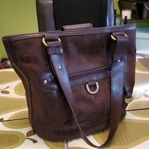 Tommy Hilfiger Brown Bucket Style Handbags